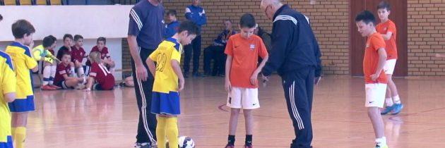 Ogólnopolski halowy turniej piłki nożnej chłopców rocznik 2004.